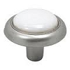 Satin Nickel With White