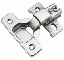 P5124-14 Concealed Face Frame Hinges Bright Nickel